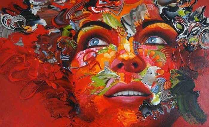 Сгусток энергии из цвета и линий. Esther Barend 1