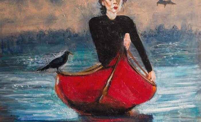 Канадский художник. Eva Lewarne 1
