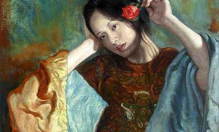 Работы в духе классического романтизма. George Tsui 1