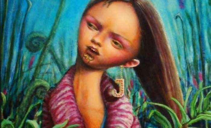 Новозеландская художница. Jennifer Majeske 1