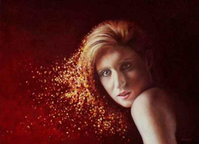 Австралийский художник-реалист. Ian de Raat 223
