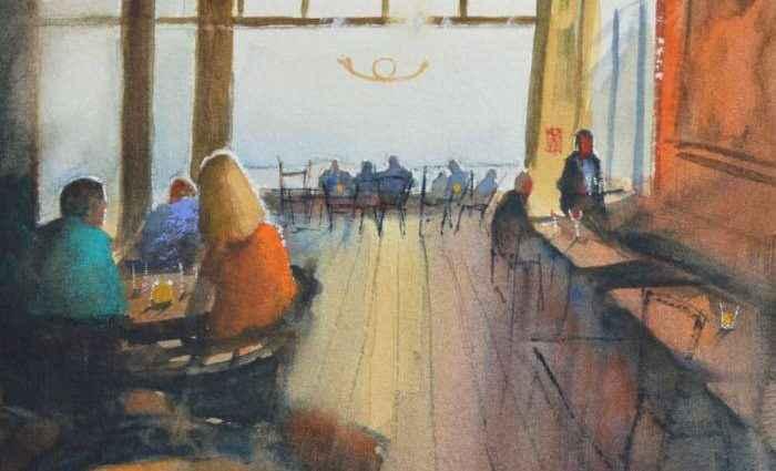 Нидерландский художник-акварелист. Jan Min 1