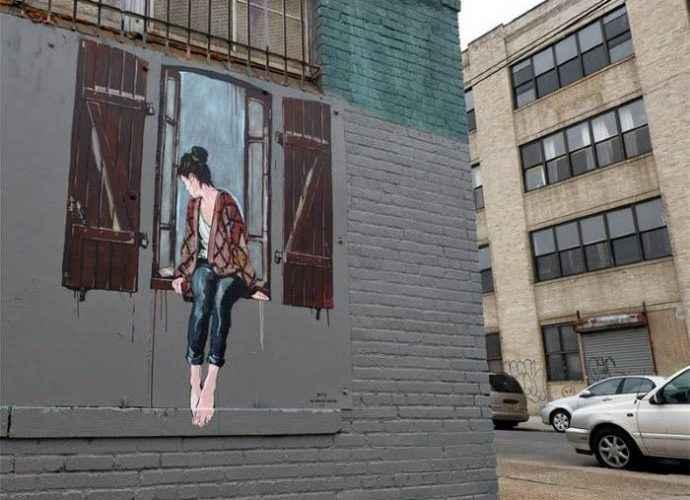 Стрит арт искусство. Jana & JS (street art) 320