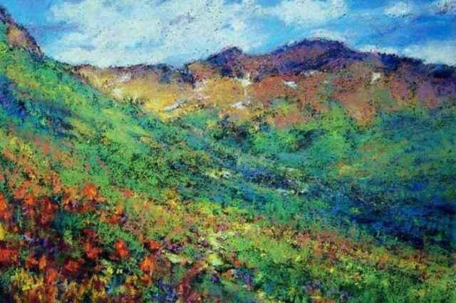 Пастельная живопись. Jane Christie 1
