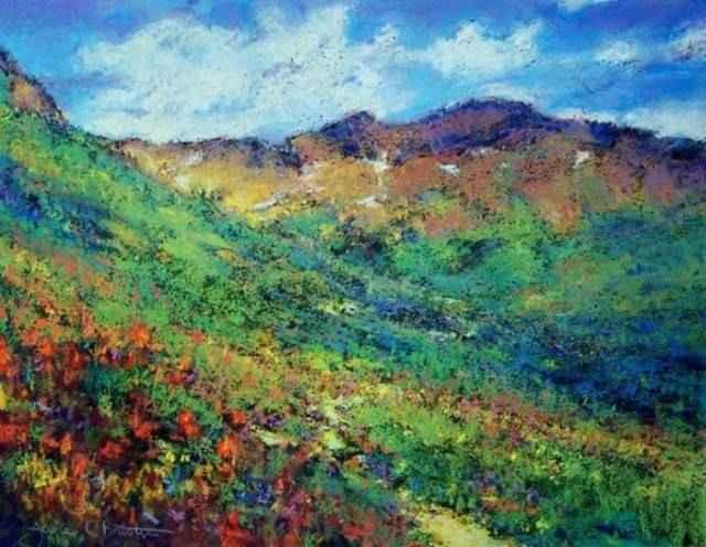Пастельная живопись. Jane Christie 91