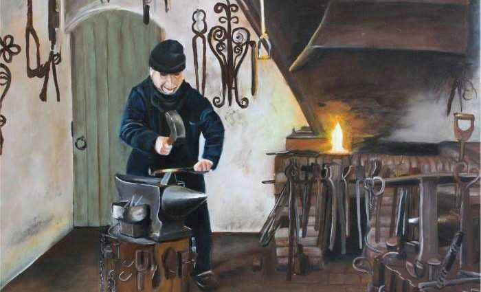 Нидерландский художник. Jennie Smallenbroek 1
