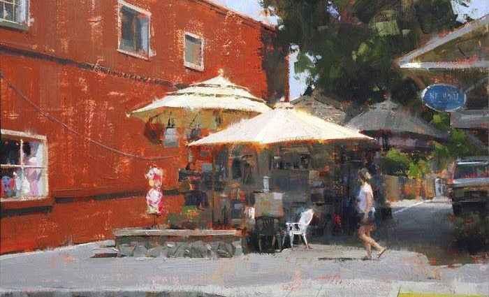 Современная канадская художница. Jennifer McChristian 1