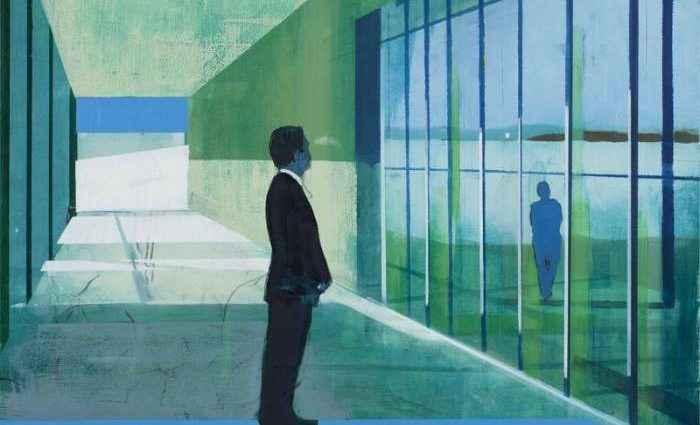 Миры, полные одиночества. Норвежский художник. Kenneth Blom 1