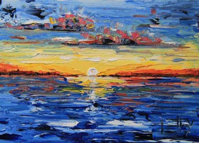 Красочный мир. Lisa Elley 52