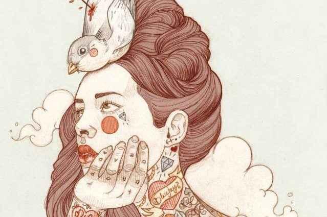 Татуированные женщины Лиз Клементс (Liz Clements) 1