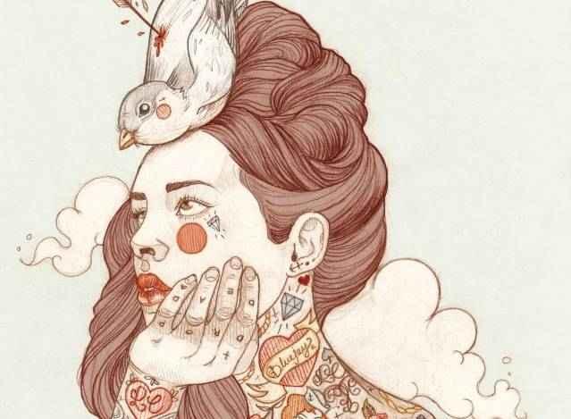 Татуированные женщины Лиз Клементс (Liz Clements) 3