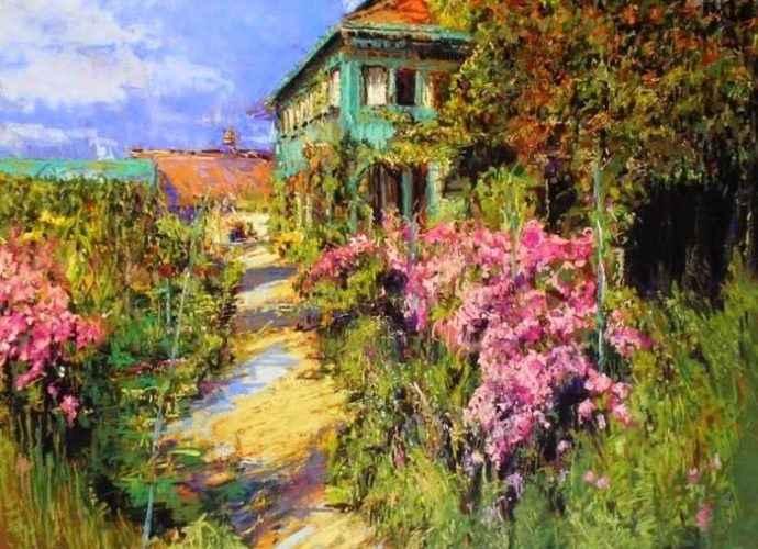 Соединение архитектуры и пейзажа. Maria Marino 173