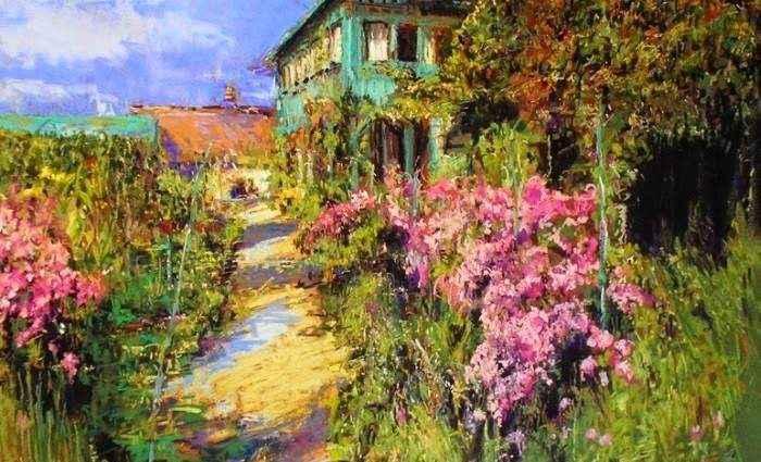 Соединение архитектуры и пейзажа. Maria Marino 1
