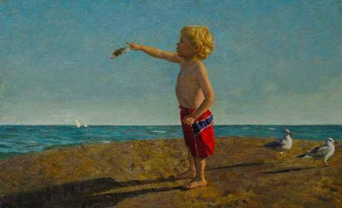 Американский художник. Michael Van Zeyl 1