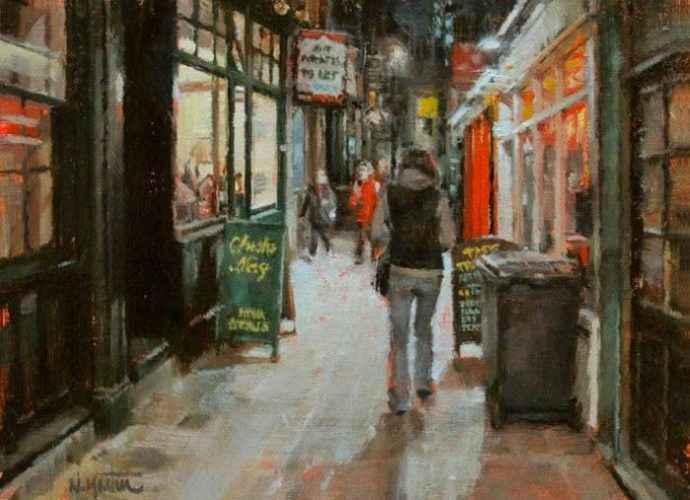 Канадский художник. Nicolas Martin 23