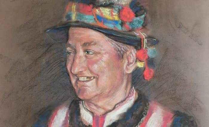 Украинский художник. Нина Воронич 1
