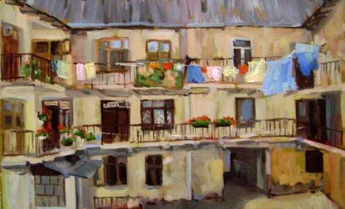 Украинский художник. Оксана Шестопал 1