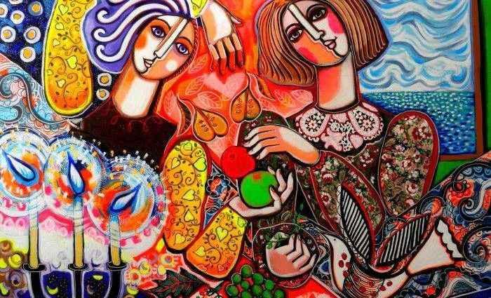 Мозаичный стиль. Rebecca de Cachard 1