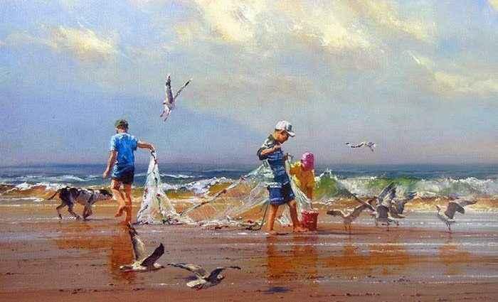 Австралийский художник. Robert Hagan 1