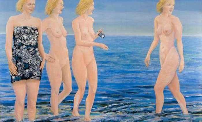 Обнажённая женская натура. Нидерландский художник. Rogier Janssen 16+ 1