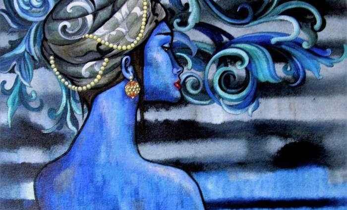Индийский художник. Suruchi Jamkar 1