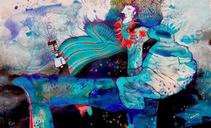 Абстрактные картины. Estela Cuadro 1