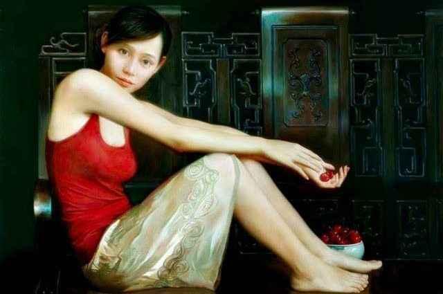 Китайский художник-реалист. XiaoYi Yu 1