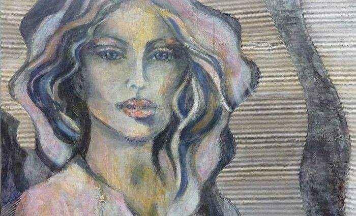 Нидерландский художник. Yvonne Olgers 1