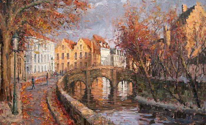 Импрессионистские городские пейзажи Парижа, 1860-1900 1