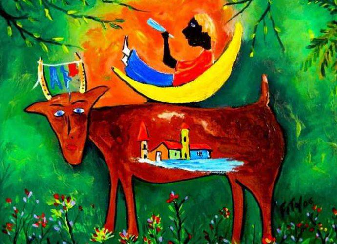 Кубинский художник. Adolfo Flores 231