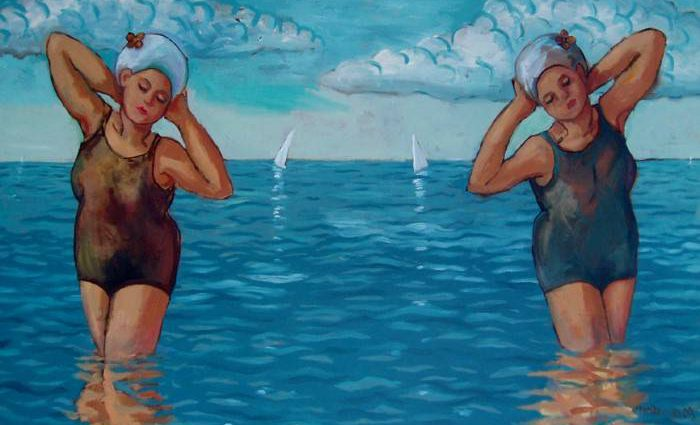 Американский художник. Alan Brown 1