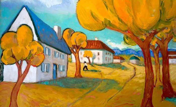 Американский художник. Angus MacDonald 1