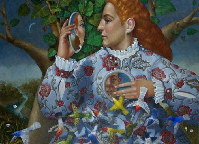 Колумбийский художник. Armando Valero 141
