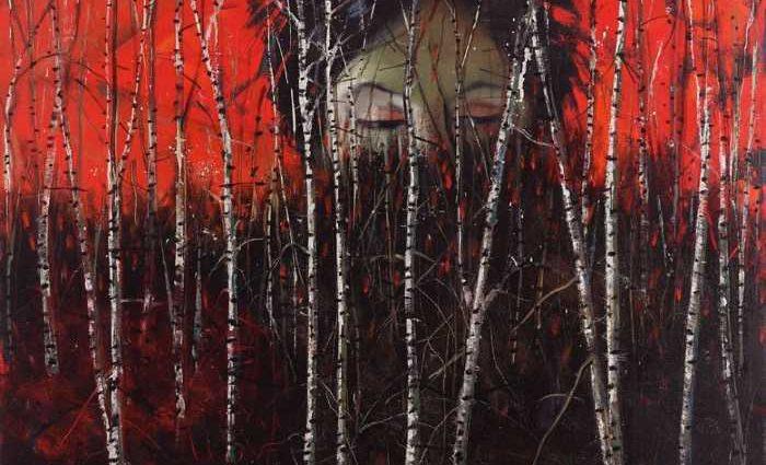Американский художник. Audrey Anastasi 1