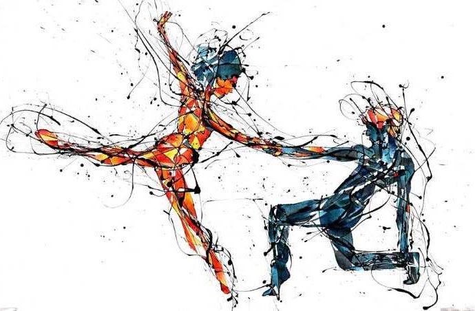 Чилийский художник. Benja Wilson 74
