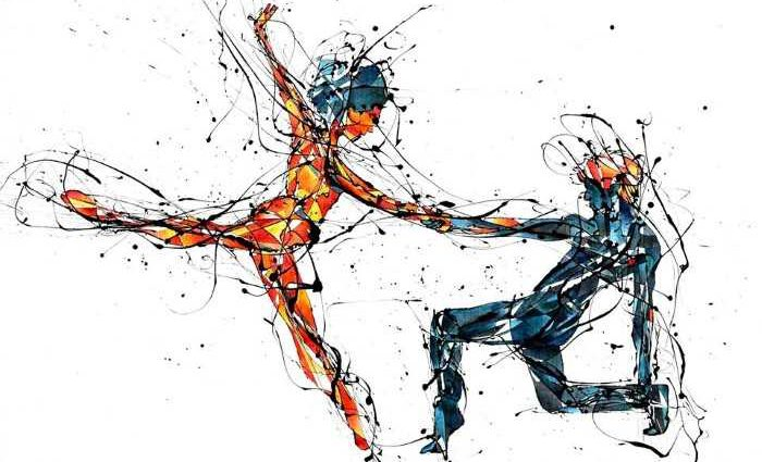 Чилийский художник. Benja Wilson 1