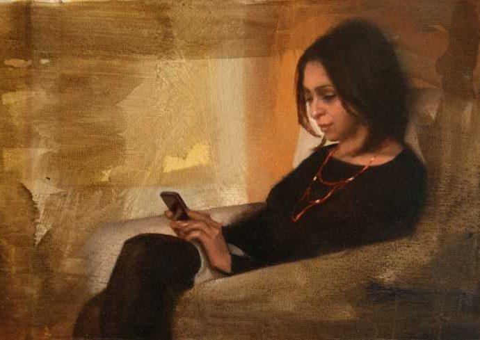 Ирландский художник. Brian Smith 80