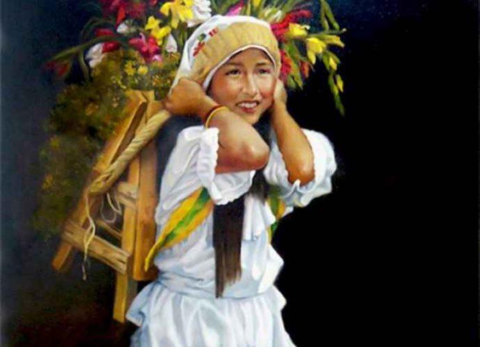 Колумбийский художник-реалист. Carlos Martinez Palomino 135