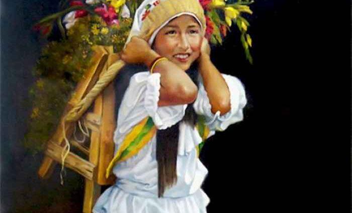 Колумбийский художник-реалист. Carlos Martinez Palomino 1