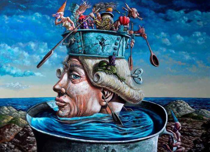 Кубинский художник. Carmelo Gonzalez Gutierrez 227