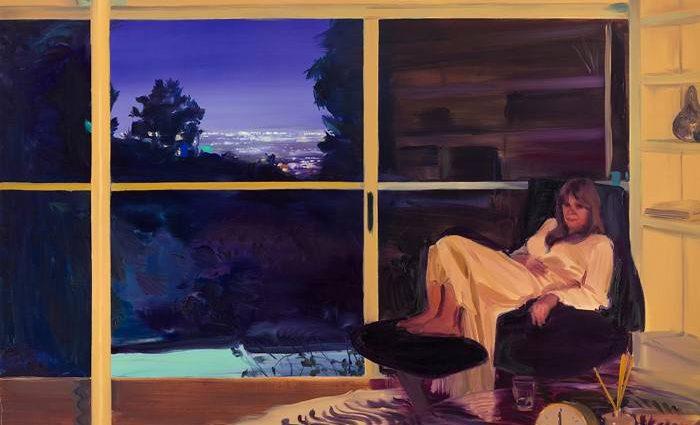 Одинокие женские фигуры. Caroline Walker 1