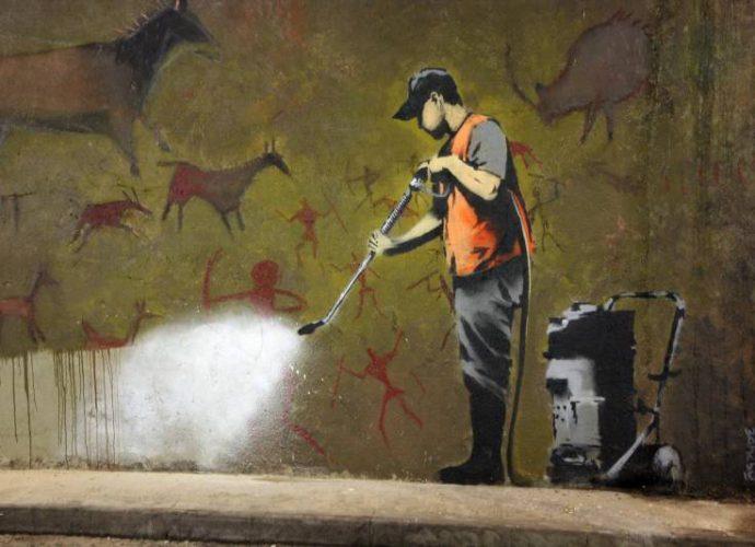 """Бэнкси - """"Современное искусство - это зона бедствия"""" 10"""