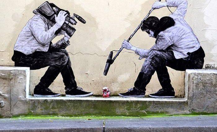 Уличный художник. Charles Leval 1