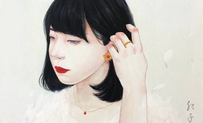 Японский художник. Choji Beniko 1