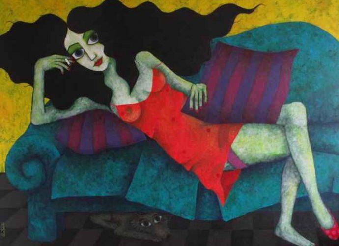 Её картины-мечты - её личный мир. Claudia Yates 72