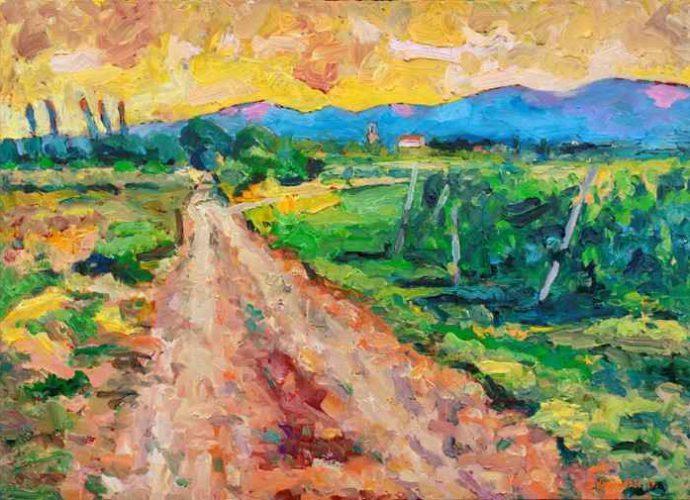 Хорватский художник. Denis Kujundzic 3