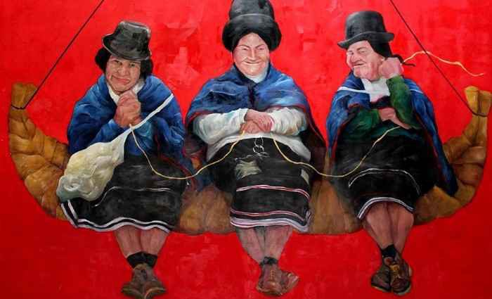 Греческий художник. Dimitra Bouritsa 1