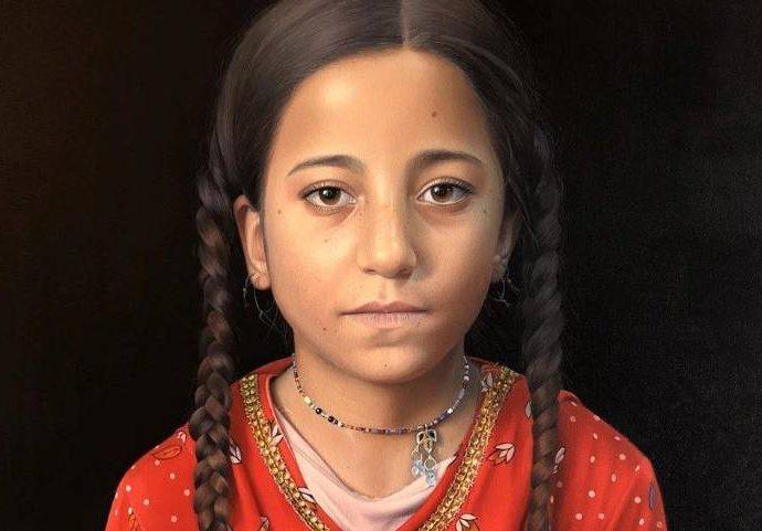 Эквадорский художник-портретист. Dominique Salvador 26