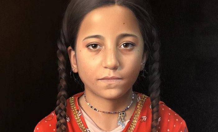 Эквадорский художник-портретист. Dominique Salvador 1