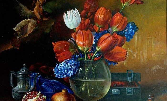 Сербский художник-реалист. Dusan Jovanovic 1